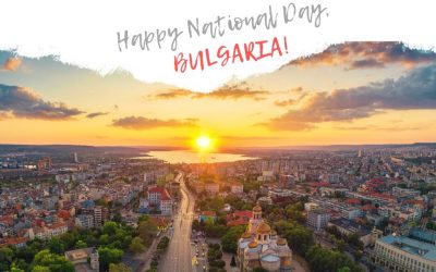 Happy National Day, Bulgaria