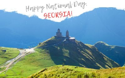 Happy National Day, Georgia!