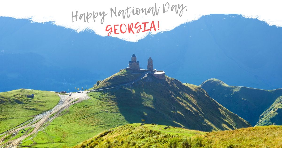 National Day Georgia